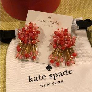 Kate Spade Beaded Burst Earrings